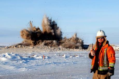 Mỏ kim cương lớn tại Canada được đưa vào khai thác