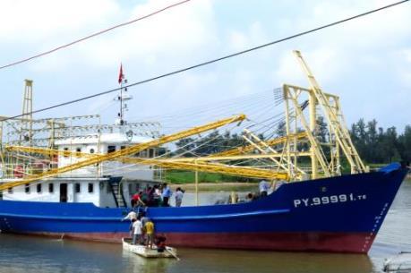 Phú Yên có thêm một tàu cá vỏ thép được đóng mới theo Nghị định 67