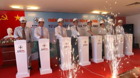 Triển khai dự án cấp điện cho hơn 1.500 hộ dân ở Cà Mau