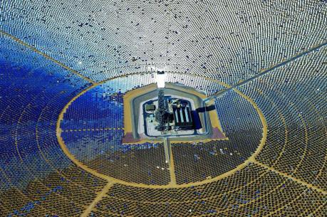 Nhà máy điện Mặt trời lớn nhất thế giới được đưa vào vận hành ở Ấn Độ