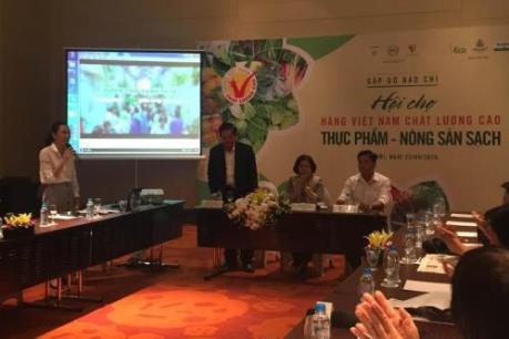130 doanh nghiệp tham gia Hội chợ chuyên ngành Thực phẩm - Nông sản sạch