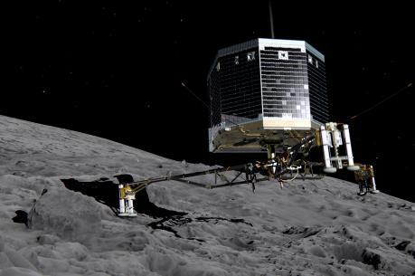 Tìm thấy robot Philae mắc kẹt hai năm trên sao Chổi