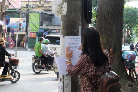 Quảng cáo, rao vặt trái phép: Nhem nhuốc phố phường