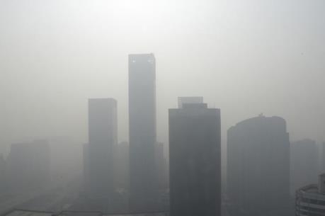 Trung Quốc: Khói mù dày đặc bao trùm thủ đô Bắc Kinh