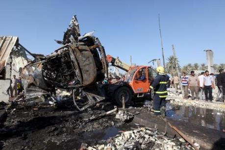 Đánh bom liều chết ở Iraq khiến 35 người thương vong