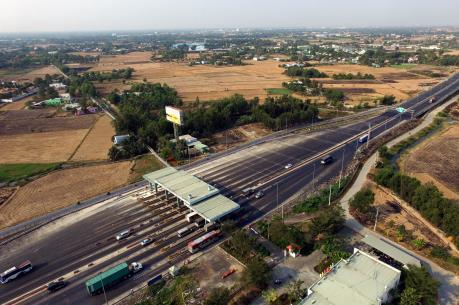 Cao tốc Tp. Hồ Chí Minh - Trung Lương sắp có trạm dừng nghỉ đầu tiên
