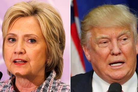 Bầu cử Mỹ 2016: Hai ứng viên H. Clinton và D. Trump bắt đầu cuộc tranh luận trực tiếp