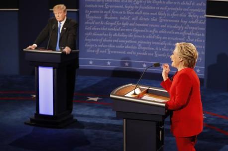 Bầu cử Mỹ 2016: Bà H. Clinton gây ấn tượng trong cuộc tranh luận đầu tiên