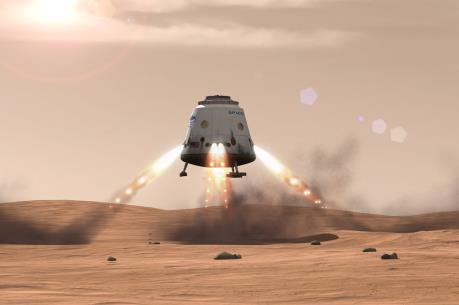 Space X bước chân vào cuộc đua tới Sao Hỏa
