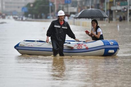 Bão Megi hoành hành tại Trung Quốc