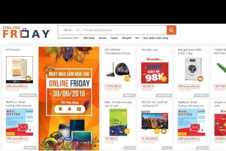Thị trường tiêu dùng sôi động mùa mua sắm trực tuyến