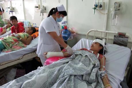 Sập lò gạch, 4 người bị thương nặng