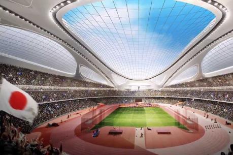 Nhật Bản thông qua hợp đồng xây dựng sân vận động quốc gia mới