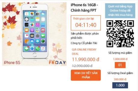 Đua nhau săn iPhone7 giá 9 triệu, điều hoà giá 1 ngàn đồng