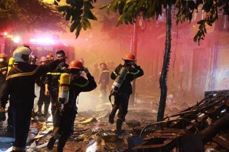 Cảnh báo mất an toàn phòng chống cháy nổ tại các quán karaoke