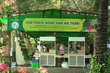 """Tp.Hồ Chí Minh nhân rộng """"Chợ phiên nông sản an toàn"""""""