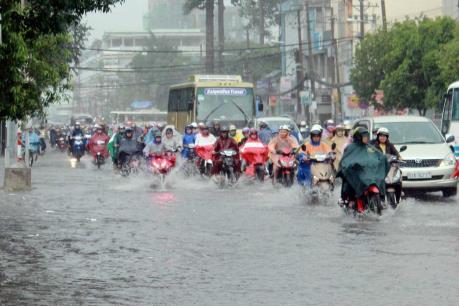 Dự báo thời tiết 3/10: Áp thấp gây mưa dông kèm lốc xoáy từ Bình Thuận đến Kiên Giang