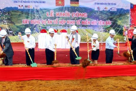 Xây dựng Tổ hợp kinh tế 1.250 tỷ đồng tại Mù Cang Chải (Yên Bái)