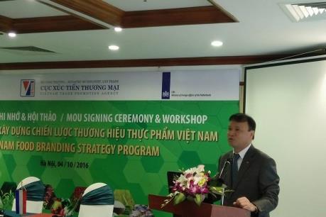Khẳng định thương hiệu cho ngành công nghiệp thực phẩm Việt Nam