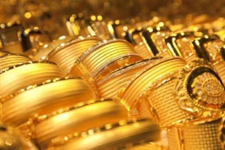 Giá vàng châu Á ngày 4/10 thấp nhất trong hai tuần qua