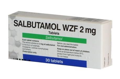 Bộ Y tế rút salbutamol ra khỏi Danh mục nguyên liệu đã công bố