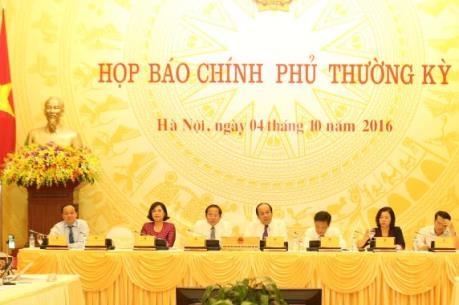 """Giải đáp nhiều vấn đề """"nóng"""" tại buổi họp báo Chính phủ"""