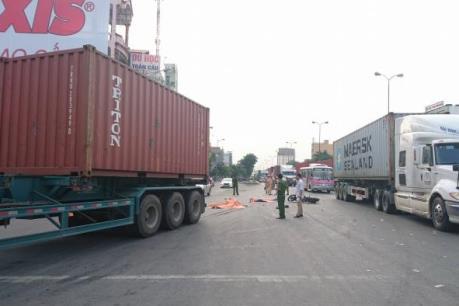 Hải Phòng: Va chạm xe container, 2 người thiệt mạng