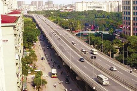 Khởi công dự án đầu tư mở rộng đường vành đai 3, đoạn Mai Dịch - cầu Thăng Long