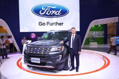 Ford hạng sang Explorer 2017 nhập từ Mỹ có giá hơn 2 tỷ đồng