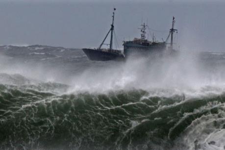 Cảnh báo: Bão Aere đang tiến vào biển Đông sức gió mạnh cấp 9, giật cấp 11