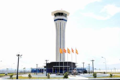 Đưa vào khai thác Đài kiểm soát không lưu Cảng hàng không Tuy Hòa mới