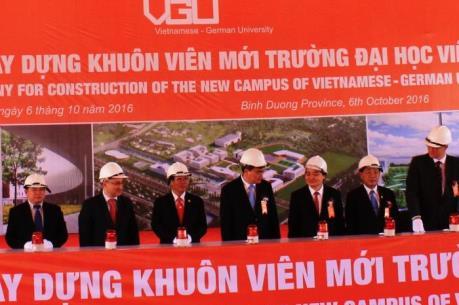 Khởi công xây dựng Trường Đại học Việt - Đức