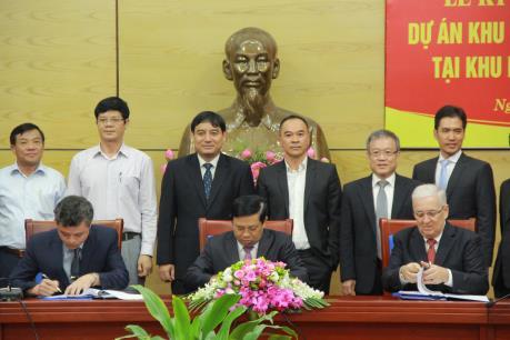CIENCO4 hợp tác với doanh nghiệp ngoại đầu tư 1 tỷ USD vào Nghệ An