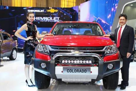 GM Việt Nam trình làng Colorado đậm chất Mỹ giá từ 619 triệu đồng