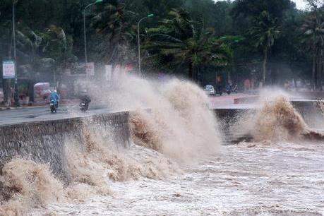 Cập nhật tin mới nhất về cơn bão số 9 trên Biển Đông
