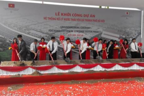Khởi công dự án hệ thống xử lý nước thải lớn nhất Việt Nam