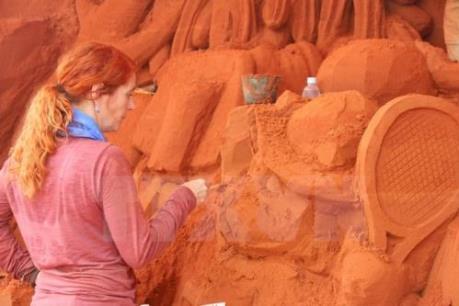 Bình Thuận sắp có công viên tượng cát Forgotten Land