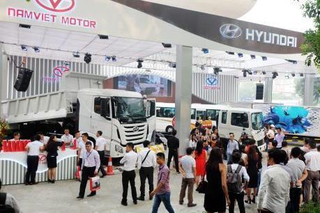 Namviet Motor trình làng 3 dòng xe thương mại chủ lực của Hyundai