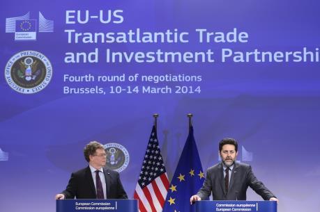 """Tiến trình đàm phán TTIP đạt được """"tiến triển đáng kể"""""""