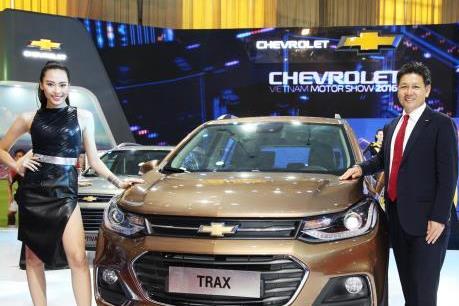 GM Việt Nam chốt giá Chevrolet Trax 2017 nhập khẩu 769 triệu