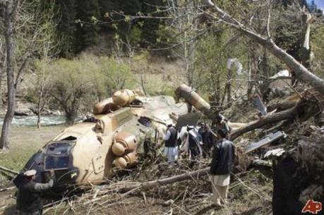 Rơi máy bay quân sự tại Afghanistan, 8 người thiệt mạng