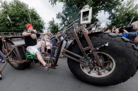 Chiêm ngưỡng chiếc xe đạp nặng nhất thế giới