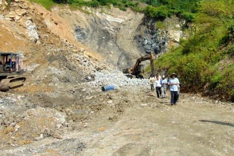 Quảng Nam thông tin về dự án Nhà máy luyện cán thép Việt - Pháp