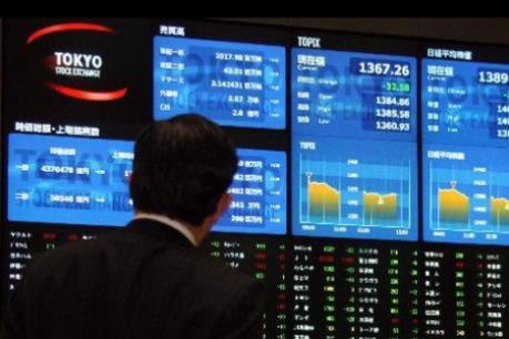 Chứng khoán châu Á tăng nhẹ phiên đầu tuần