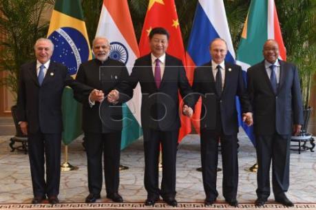 Lãnh đạo BRICS phối hợp hoạt động, chống rửa tiền và khủng bố