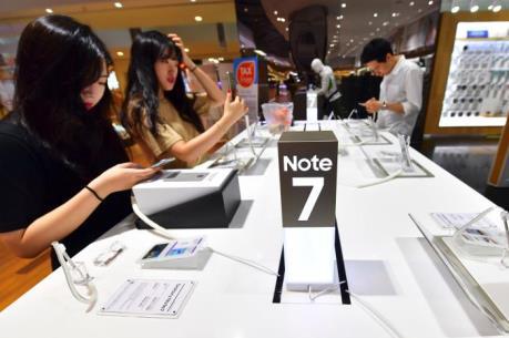 Samsung khuyến cáo khách hàng ngừng sử dụng Galaxy Note 7