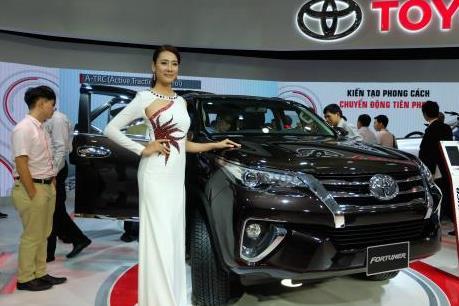 Toyota Việt Nam có doanh số bán hàng tăng 8%
