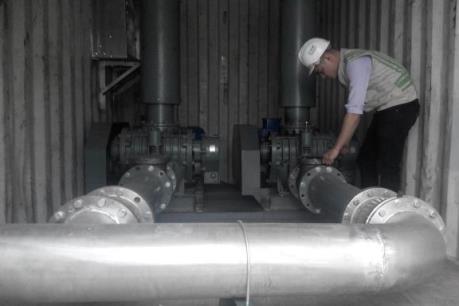 Hà Nội lắp đặt hệ thống cung cấp oxy hòa tan ở Hồ Tây