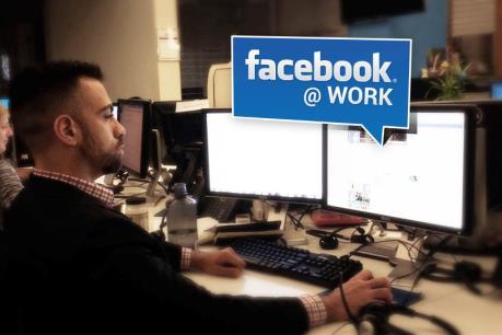 """Facebook tung ra """"mạng xã hội công sở"""""""