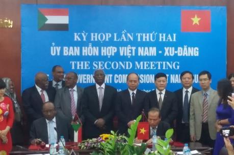 Việt Nam - Xu-đăng hợp tác về kinh tế - thương mại
